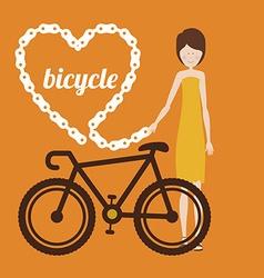 sport bike vector image