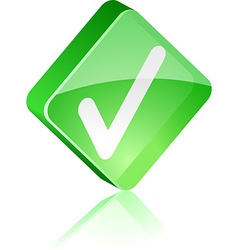 Validation button vector