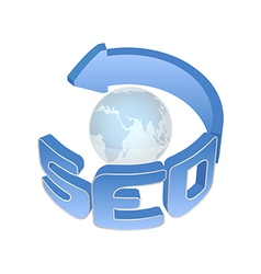 SEO sign vector image