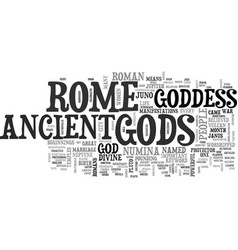 Ancient rome food text word cloud concept vector