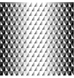 geometric black and white tiled pattern triangles vector image