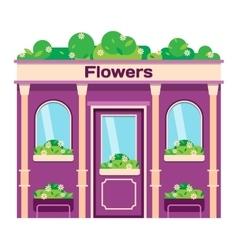 Shop facade vector