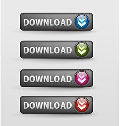 web download icon vector image