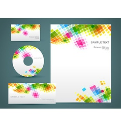 style template art vector image