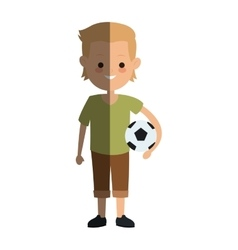 kid cartoon icon vector image vector image