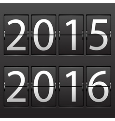 Scoreboard 2015 2016 vector