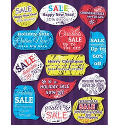 Set of special sale offer labels and banners for c vector image vector image