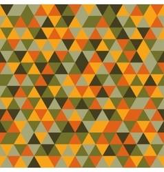 Seamless color triangles pattern vector