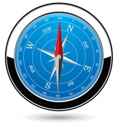 compass vector image