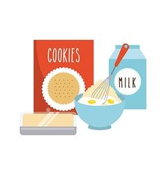 homemade food vector image