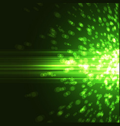 bright green abstract party background vector image vector image