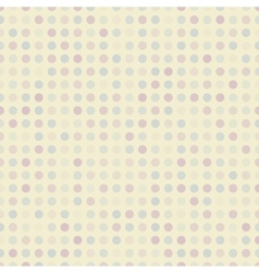 Retro dot seamless pattern tiling Endless texture vector image
