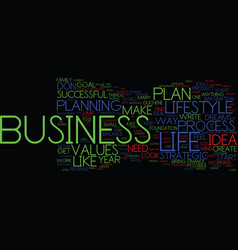 Your business or your life why not both text vector