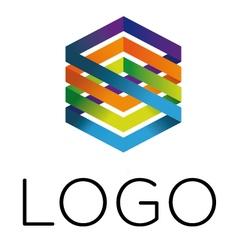 Logo device vector
