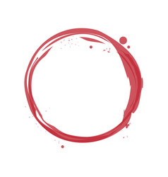 Wine stain icon vector