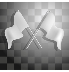 Racing checkered background vector