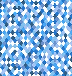 Abstract pattern of different blue elements vector