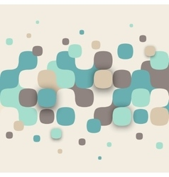 Abstract texture with squares vector