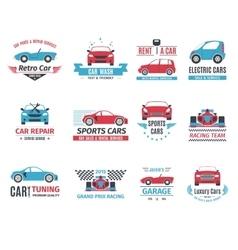 Car logo set vector