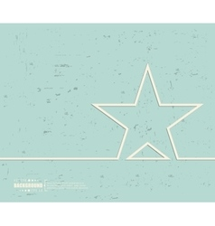 Creative star Art template vector image vector image