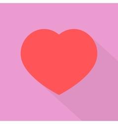 Retro Flat Valentine vector image