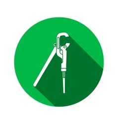 Screw wrench pliers adjustable spanner Wrench vector image vector image