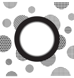 324circle and dotty background vector