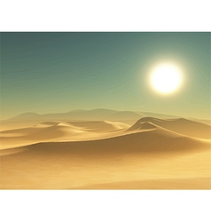 Desert background 1405 vector