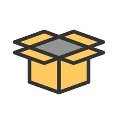 Open box vector