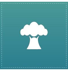 Baobab tree icon vector