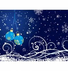 Christmas postcard vector image vector image