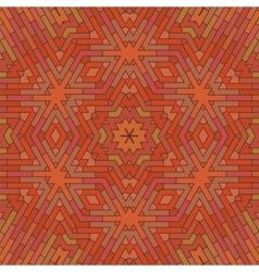 Ornamental red brick background vector
