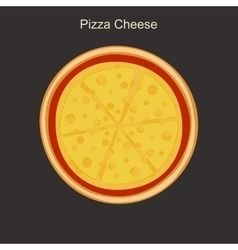 Pizza cheese vector