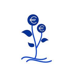 Design Money tree vector image