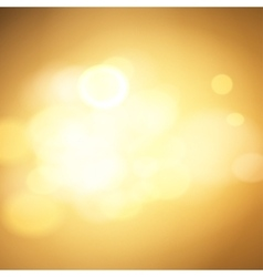 gold bokeh background vector image vector image