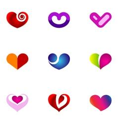 logo design elements set 54 vector image