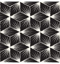 Seamless hand painted geometric sunburst vector