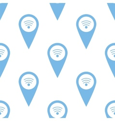 Wi-fi pointer seamless pattern vector