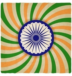India independence day old background vector