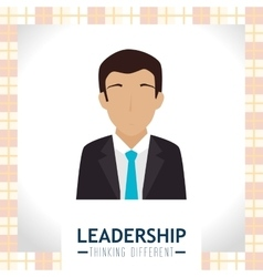 Leadership business entrepreneur vector