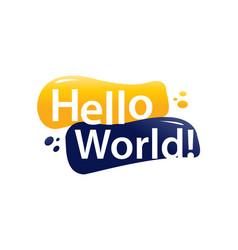 Hello world vector