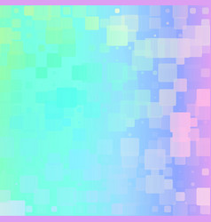 Light rainbow glowing rounded tiles background vector