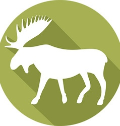 Moose Icon vector image vector image
