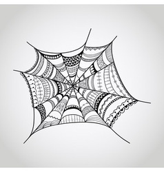Spider-web vector