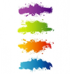 blot color vector image