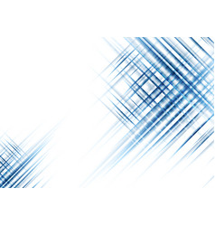 blue shiny abstract futuristic stripes tech vector image vector image