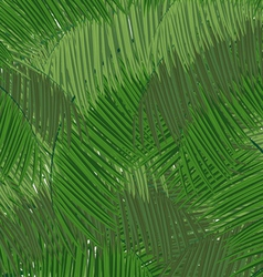 Dense tropical forest vector