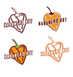 Habanero hot vector