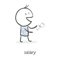 Salary vector