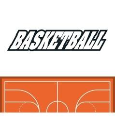 League of basketball sport design vector